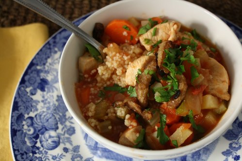 Chicken, Vegetable & Couscous Stew