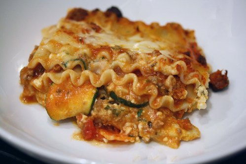 Hearty Beef and Vegetable Lasagna