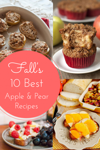 10 Best Apple and Pear Recipes