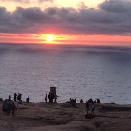 I was in San Diego this weekend and randomly found the most perfect sunset-viewing spot. I love when that happens.