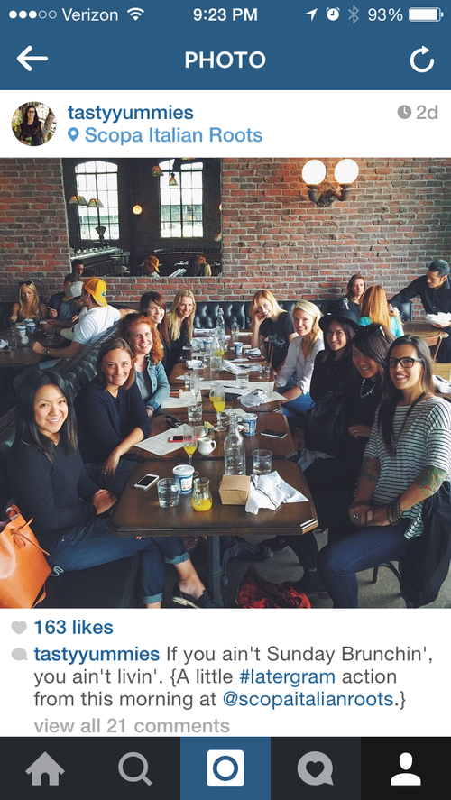 L.A. Food Blogger Brunch