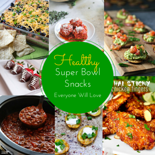Healthy Super Bowl Food Everyone Will